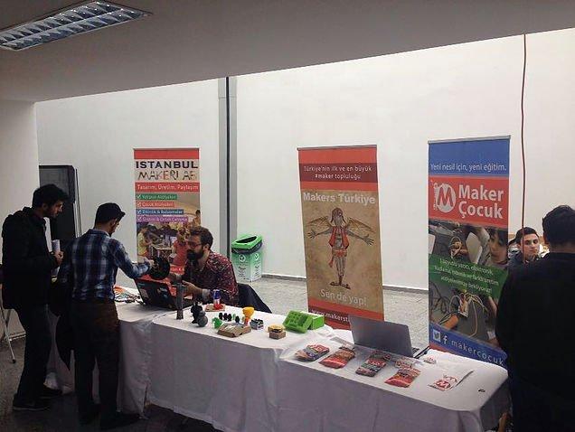 Istanbul MakerLab 11. İLTEK Günleri'nde Maker Fuarındaydı!