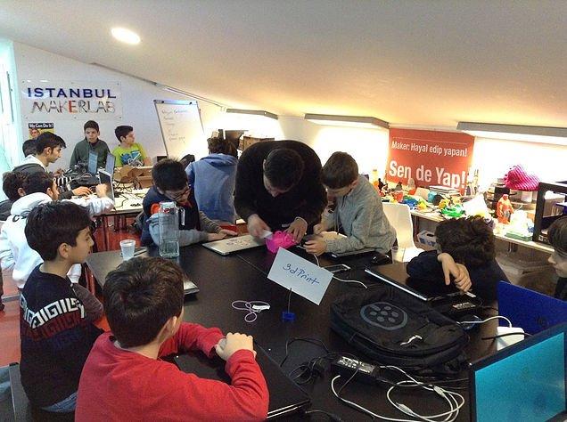 Türkiye'nin  İlk Maker Kampını Dolu Dolu Geçirdik