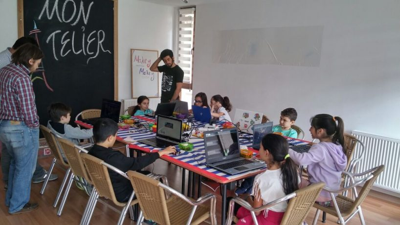 Maker Çocuk Atölyeleri Mon Atelier'de!
