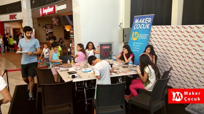 Maker Çocuk, Maltepe Park AVM'de!