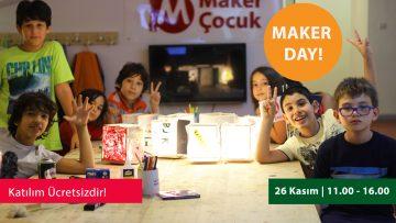 Maker Çocuk'la Ücretsiz Tanışın!