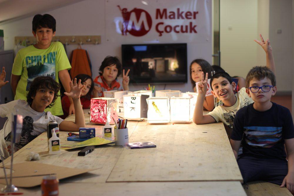Maker Çocuk Merak Ediyor
