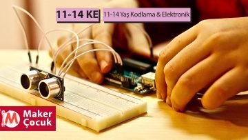 11-14 Yaş Kodlama-Elektronik Aylık