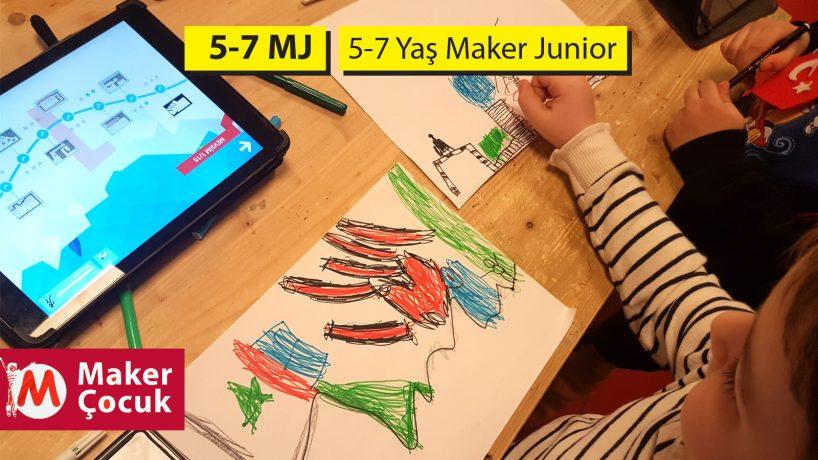5-7 Yaş Maker Junior Aylık
