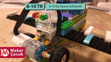 8-10 Yaş Tasarım-Robotik Dönemlik
