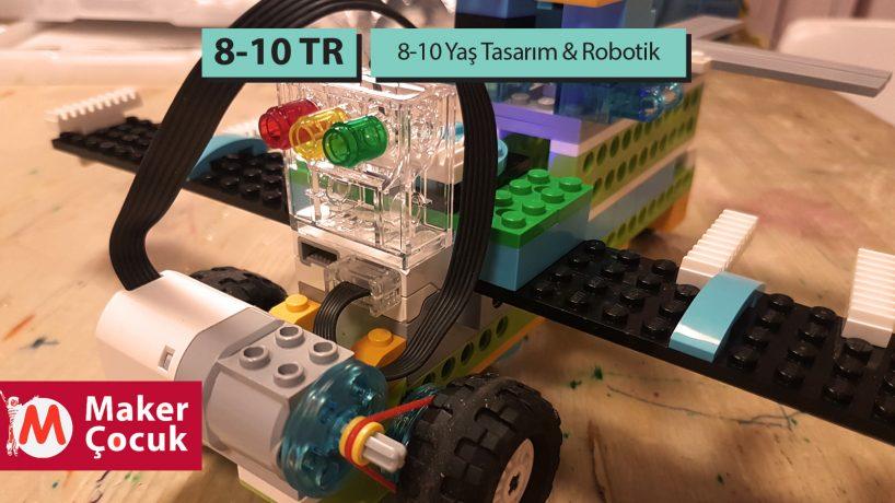 8-10 Yaş Tasarım-Robotik Aylık
