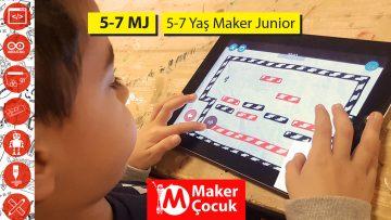 5-7 Yaş Maker Junior Dönemlik