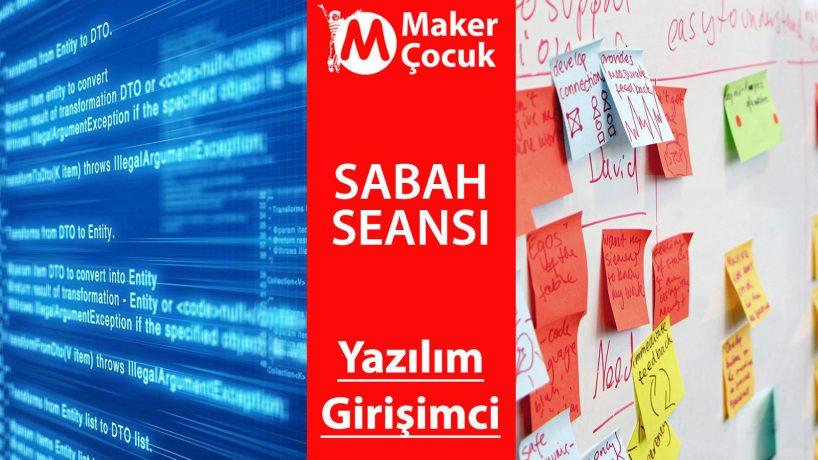 Yazılım + Girişim Maker Çocuk Yaz Kampı