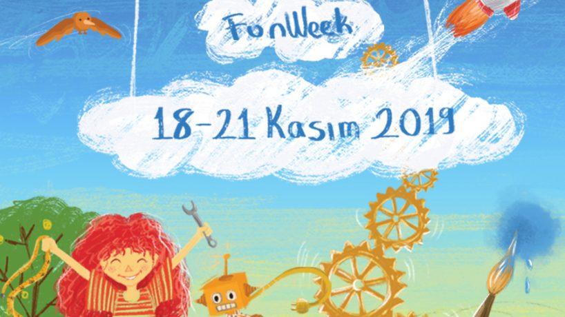 Maker Çocuk FunWeek 18-21 Kasımda Atölyemizde